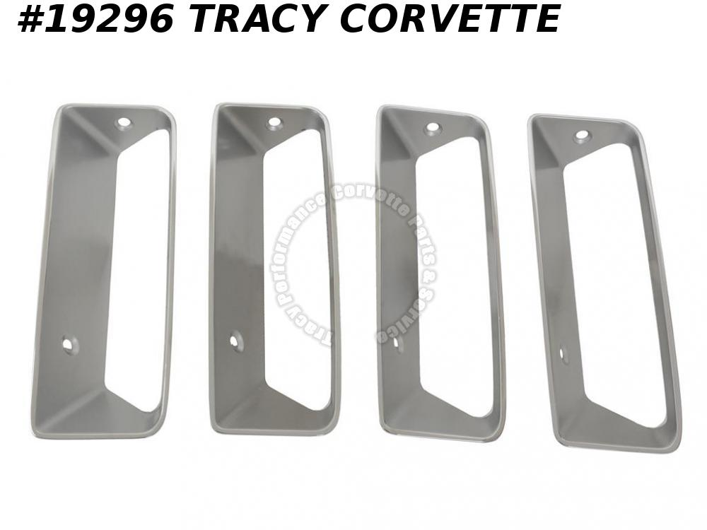 1969 Corvette Right Side Fender Louver GM# 3945248  -  Set Of 4