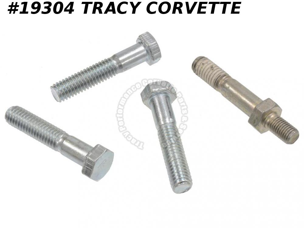 1965-1974 Corvette Water Pump Bolt with Stud Set 427 454    4-Pieces