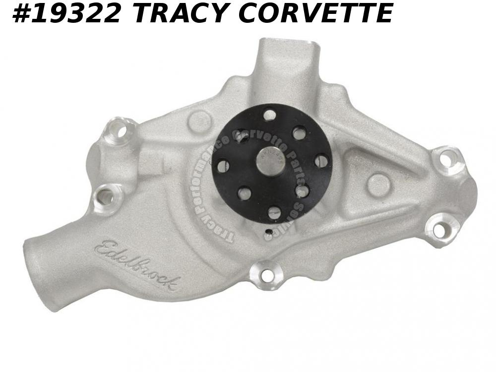 1955-1970 Chevy Corvette Edelbrock Short Small Block Aluminum Water Pump 327/350