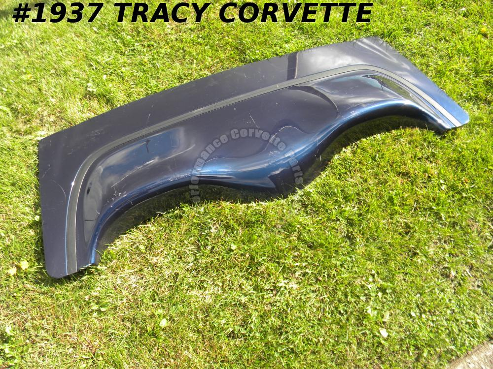 1998-2004 Corvette Convertible Used 10414341 Deck Lid w/Trunk Release Button C5