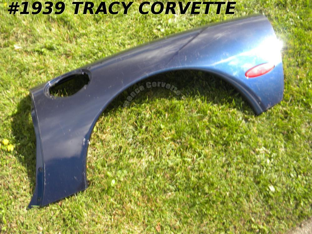 1998-2004 Corvette 10148388 Conv Used LH Rear Quarter Panel Needs Minor Repairs