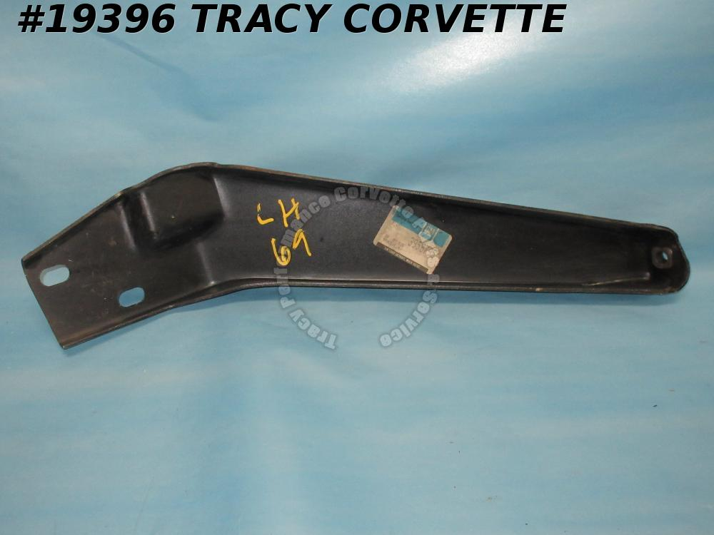 1969 Corvette GM# 3958796 Outer Bumper Support Bracket Right Brace    Rare NOS
