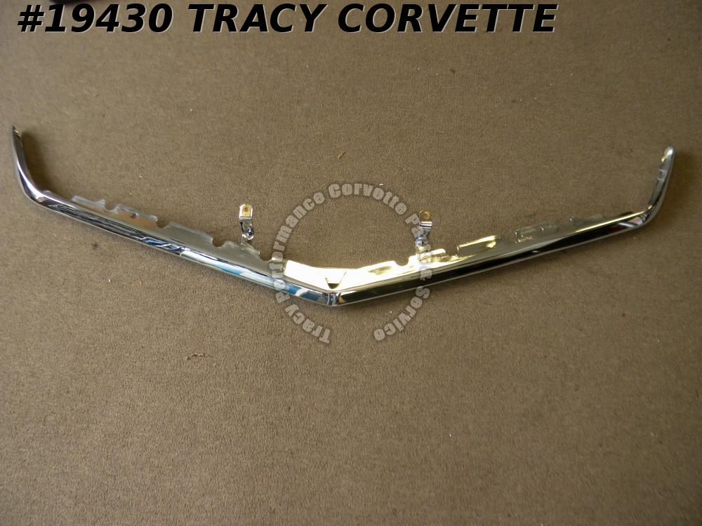1968-1972 Corvette GM# 3974008 Front Bumper   Original  ReChromed 1969 1970 1971
