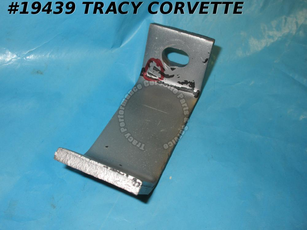 1970-1972 Corvette GM# 3946159 Bumper Bracket Extension Front Outer  has the 'C'
