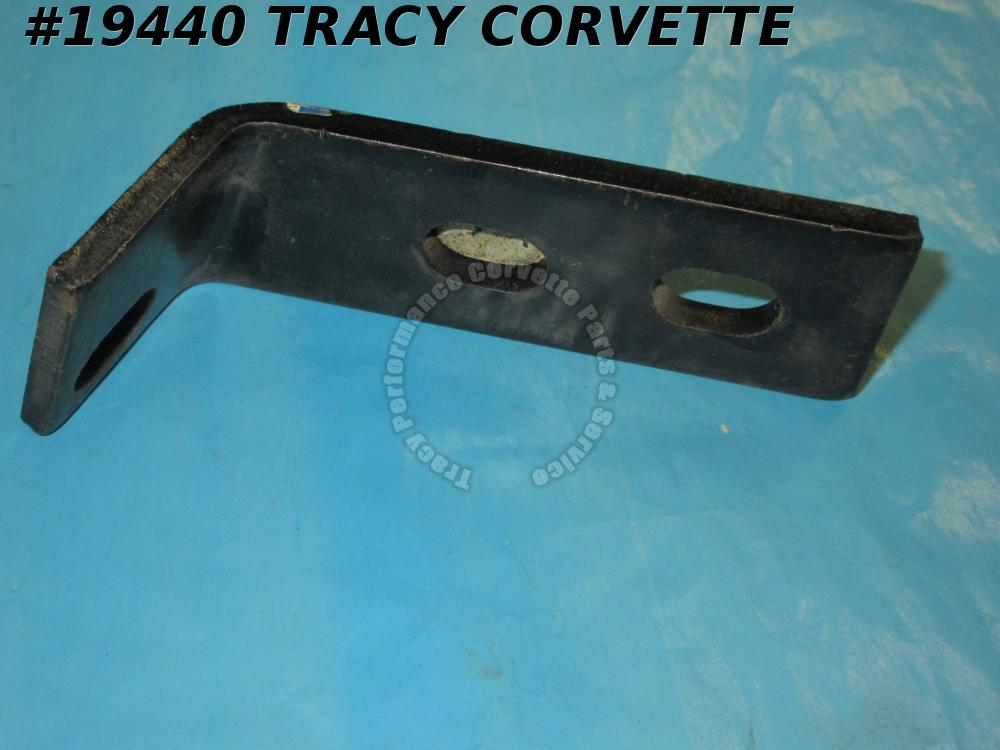 1968-1972 Corvette GM# 3932845 Bumper Guard Extension Bracket Left - NOS has 'W'