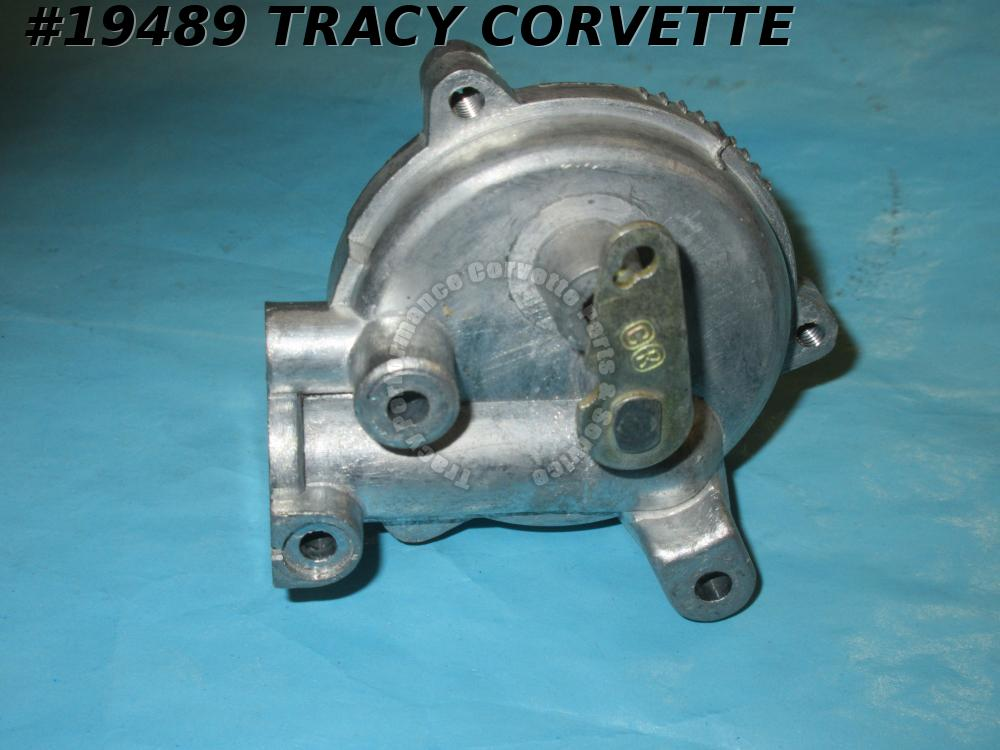 1962 Corvette Carburetor Choke Base - AFB with Piston and Lever