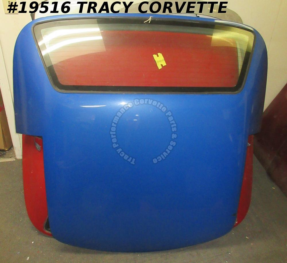 1989-1996 Corvette Convertible Hard Top C4 w/Defogger Glass Blue Repaint Hardtop