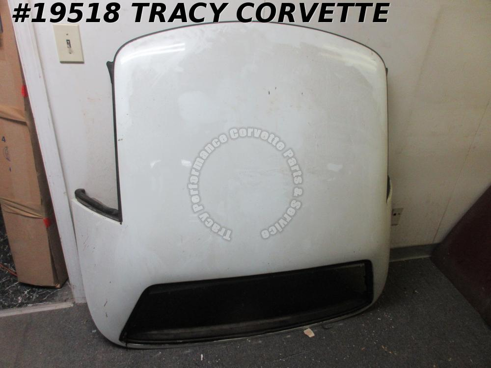 1989-1996 Corvette Convertible Hard Top, No Rear Glass, White, C4 Hardtop