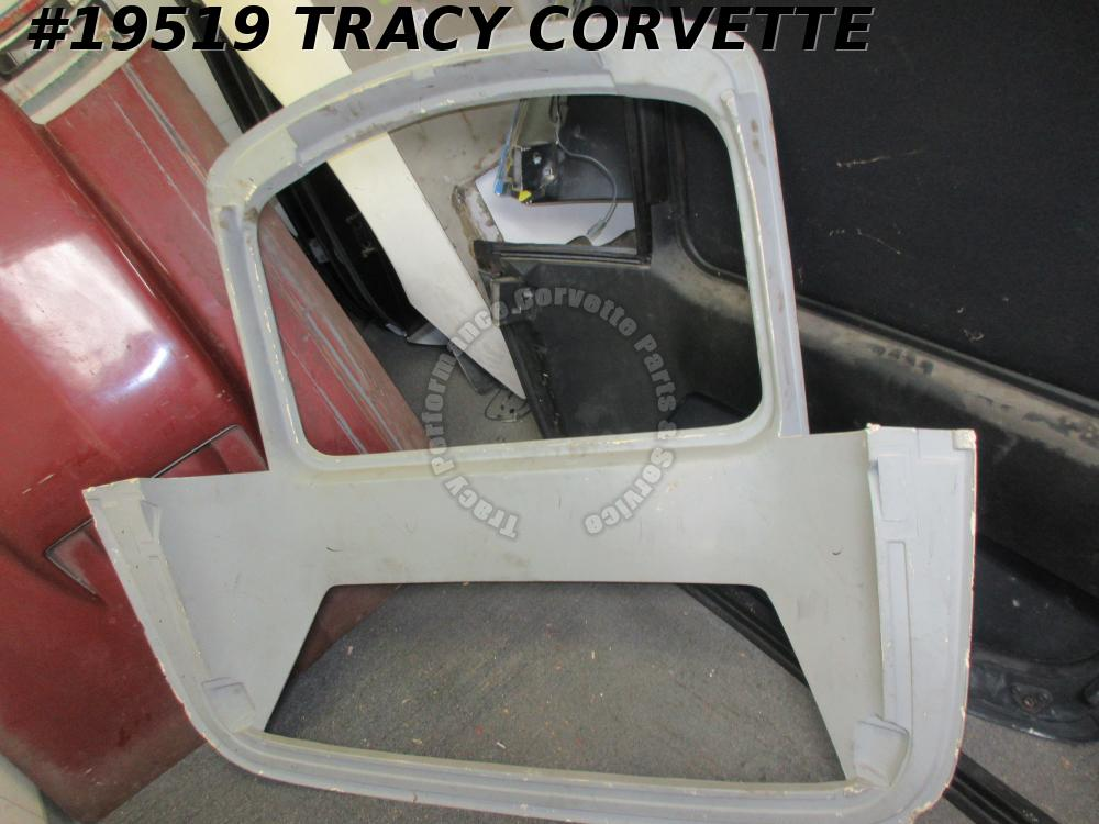 1989-1996 Corvette Convertible Hard Top Custom Shell w/ Sunroof Opening No Glass