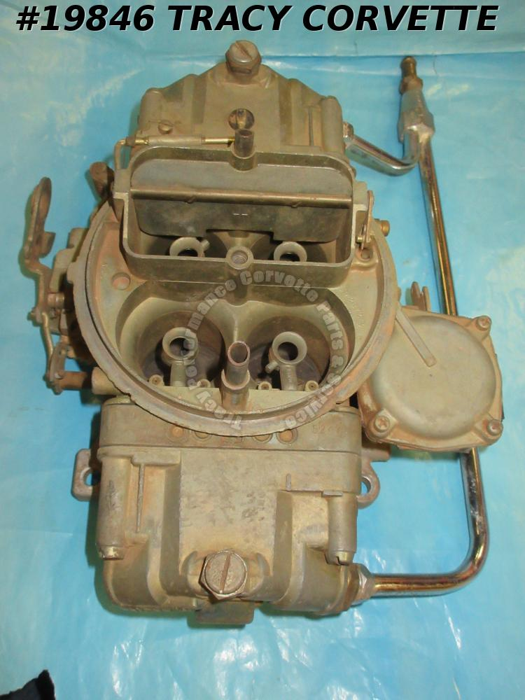 1967-1969 Corvette 3886091-AN Holley Carburetor 3418-1 L-88 427 BBC Dated 881 Rb