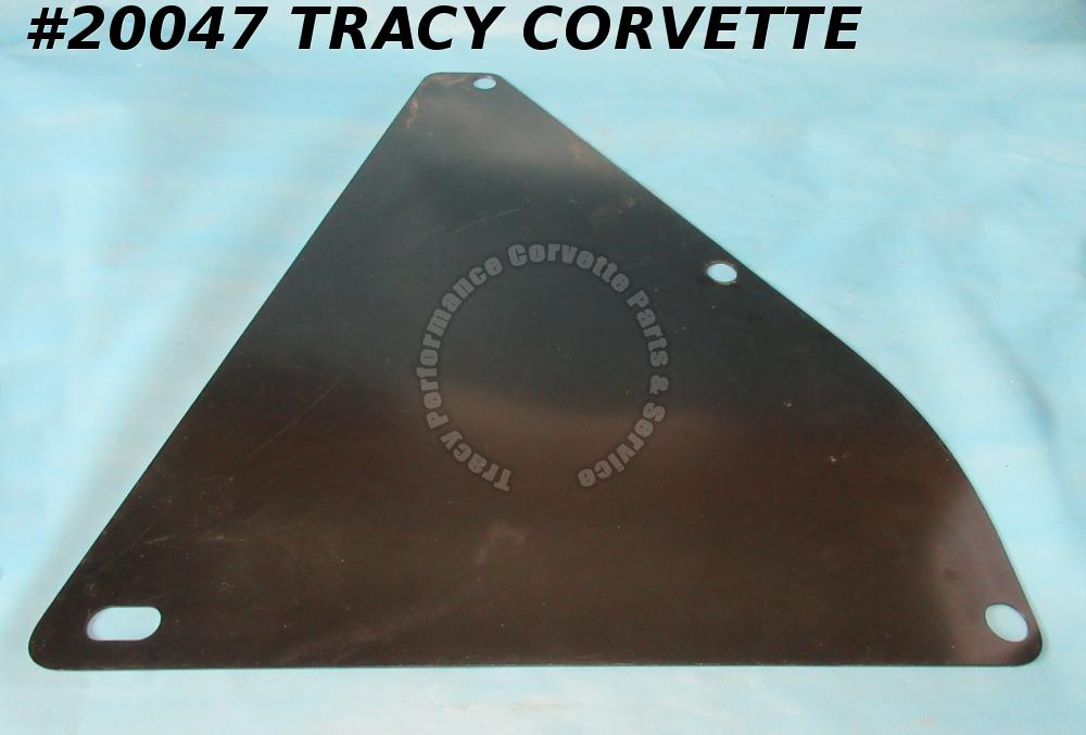 1964-1967 Corvette Splash Shield - Small Block Right Inner 327