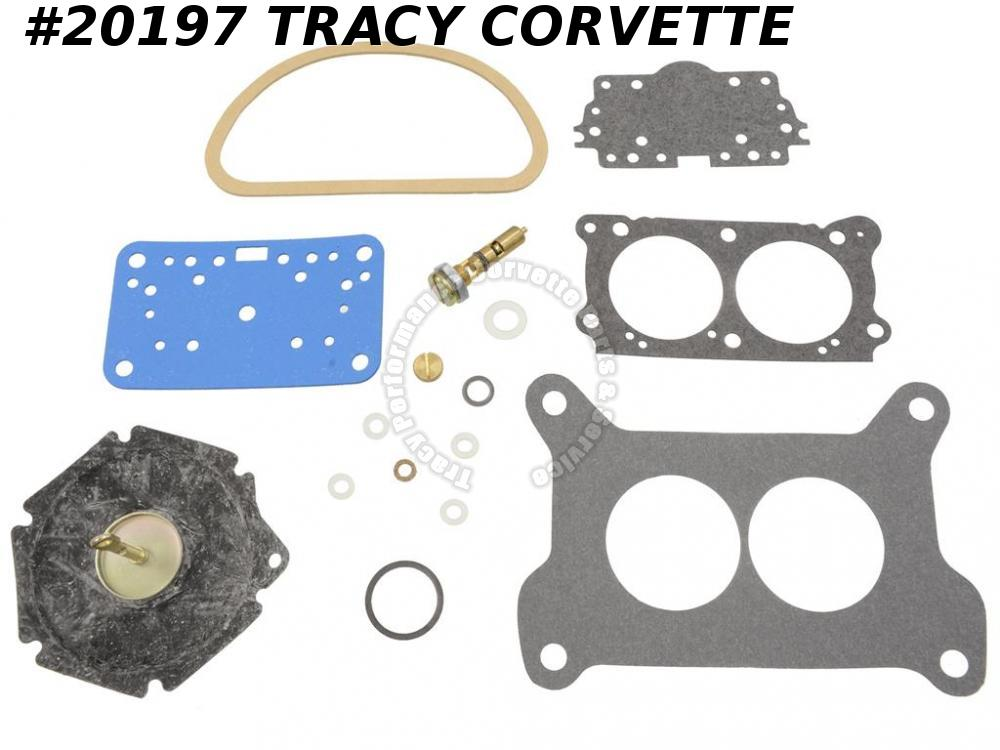 1967 Corvette Carburetor Rebuild Kit - Holley 3659 400 435 HP End Carbs