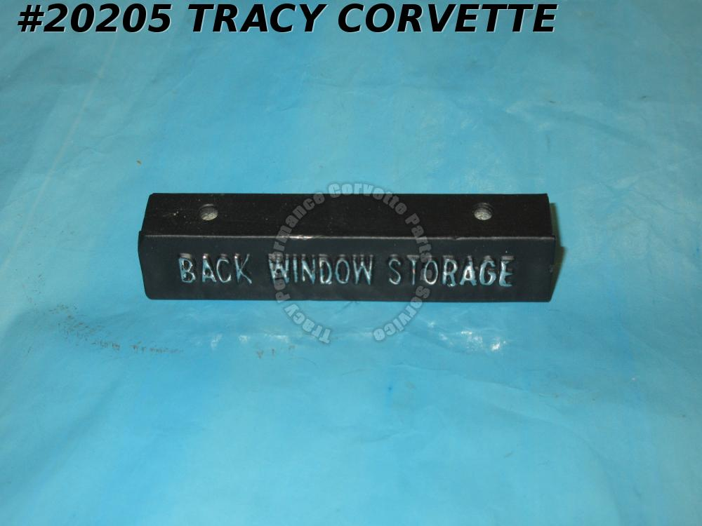 1969-1971 Corvette GM# 3956004 Removable Rear Window Storage Tray Handle