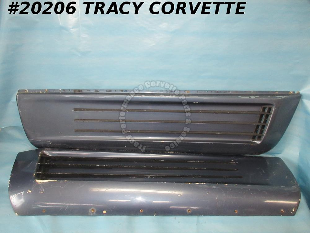 1984-1990 Corvette Aerotech Finned Door Kit w/ Aluminium Bars and Grilles   Used