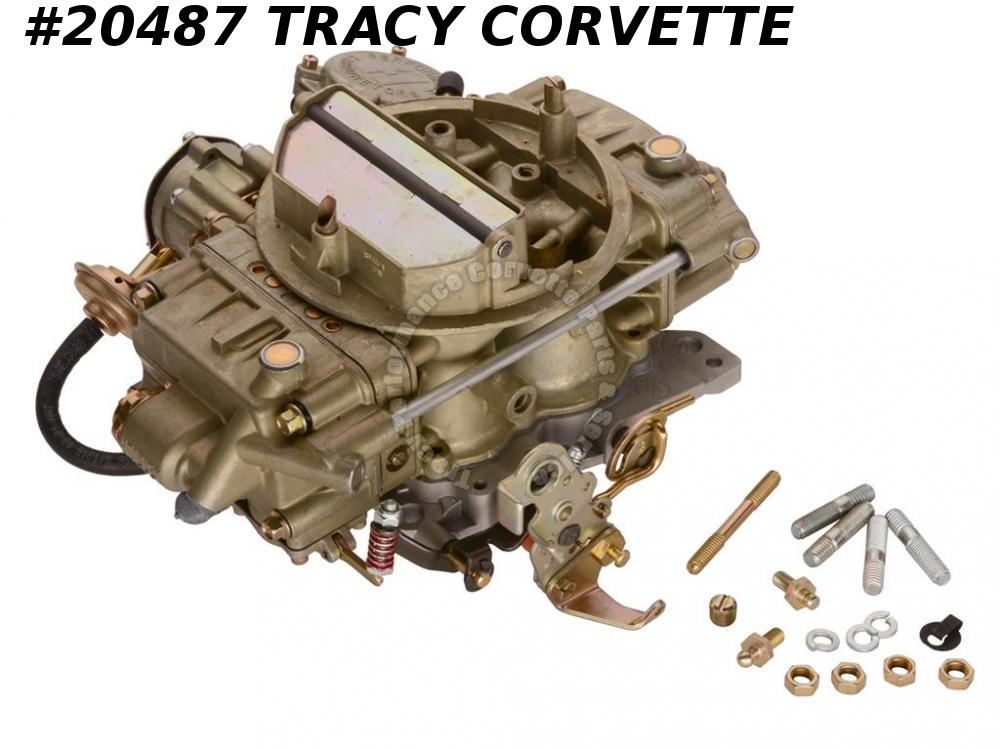 1968-1970 Corvette Carburetor - Holley Quadrajet Replacement 327 350