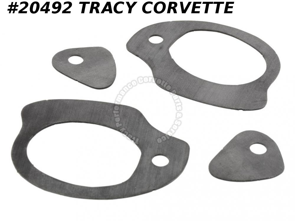 1963-1964 Corvette Door Handle Gaskets Set GM# 4762517 Outer Does Both Handles