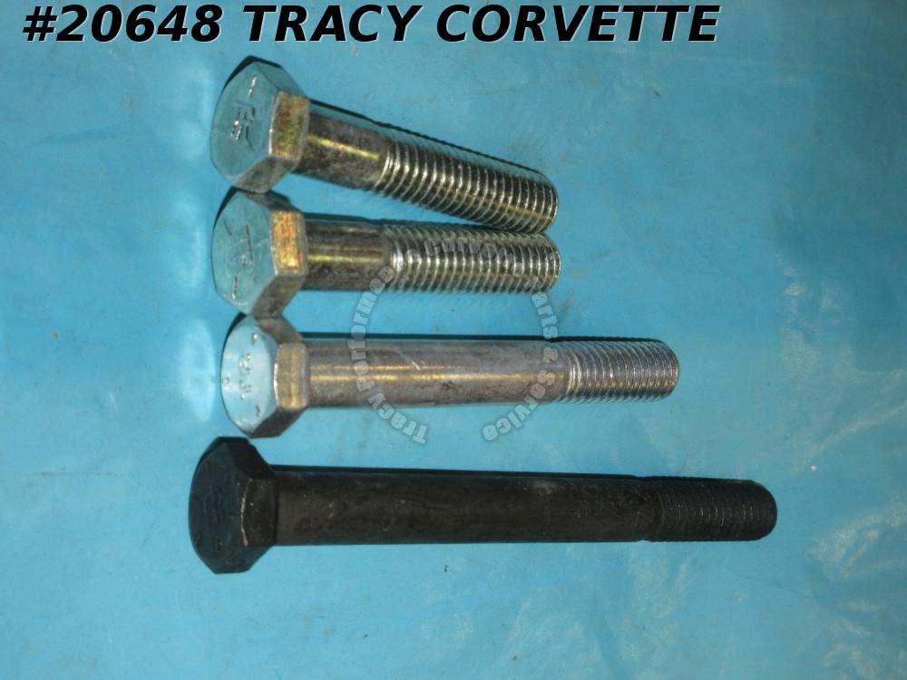 1964-1976 Corvette Water Pump Bolt Set - 327 350 with Air Conditioning
