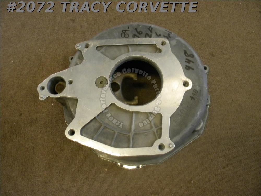 1989-96 Corvette Used 10126448 LT1 Magnesium Bellhousing/Shield/Fork/Spacer/Shim