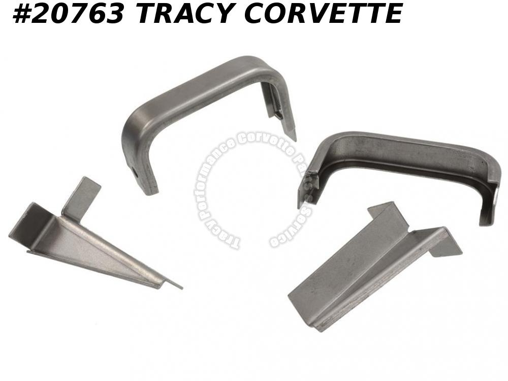 1966-1967 Corvette Radiator Bracket - 427 Lower And Reinforcement