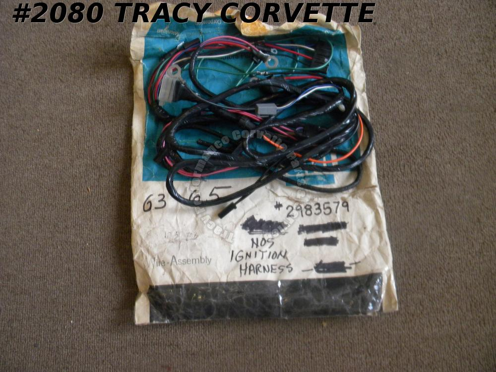 1963-1965 Corvette NOS GM 2983579 Starter Harness 63 1964 64 1965 65 Alternator