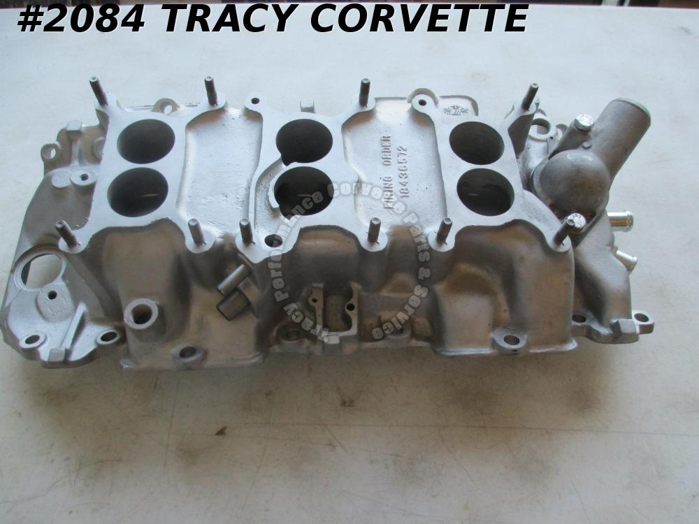 1967 Corvette Used 3894374 427/435 Tri-Power 3 X 2 Intake Manifold Dated 2 6 67