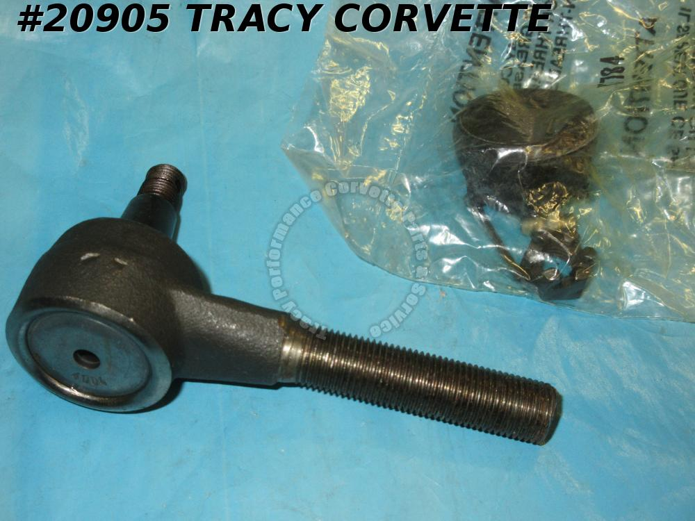 1953-1962 Corvette Tie Rod End - Right Hand Service Replacement with Zerk