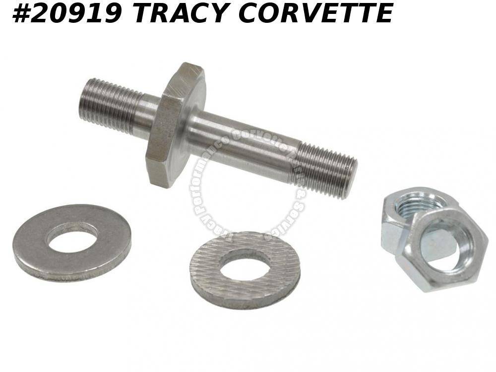 1959-1962 Corvette Strut Rod Stud GM# 3758081 Rear To Frame with Nuts & Washers