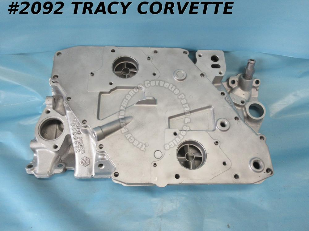 1982 Corvette/Camaro/Firebird Used 14031372 Aluminum Cross Fire Intake Manifold