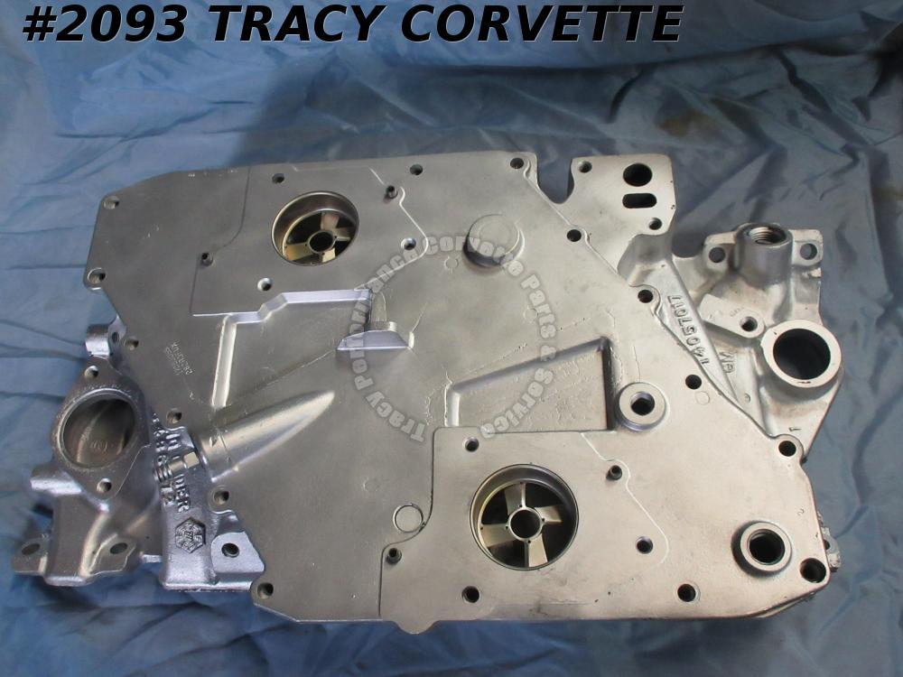 1984 Corvette/Camaro/Firebird Used 14057017 Aluminum Cross Fire Intake Manifold