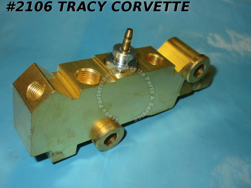1974-1977 Corvette Proportioning Valve Distribution Block GM# 339780 1975 1976