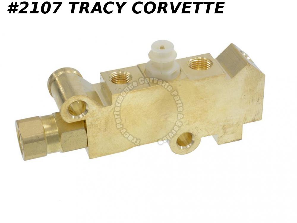 1978-1982 Corvette Proportioning Valve Distribution Block 1257208