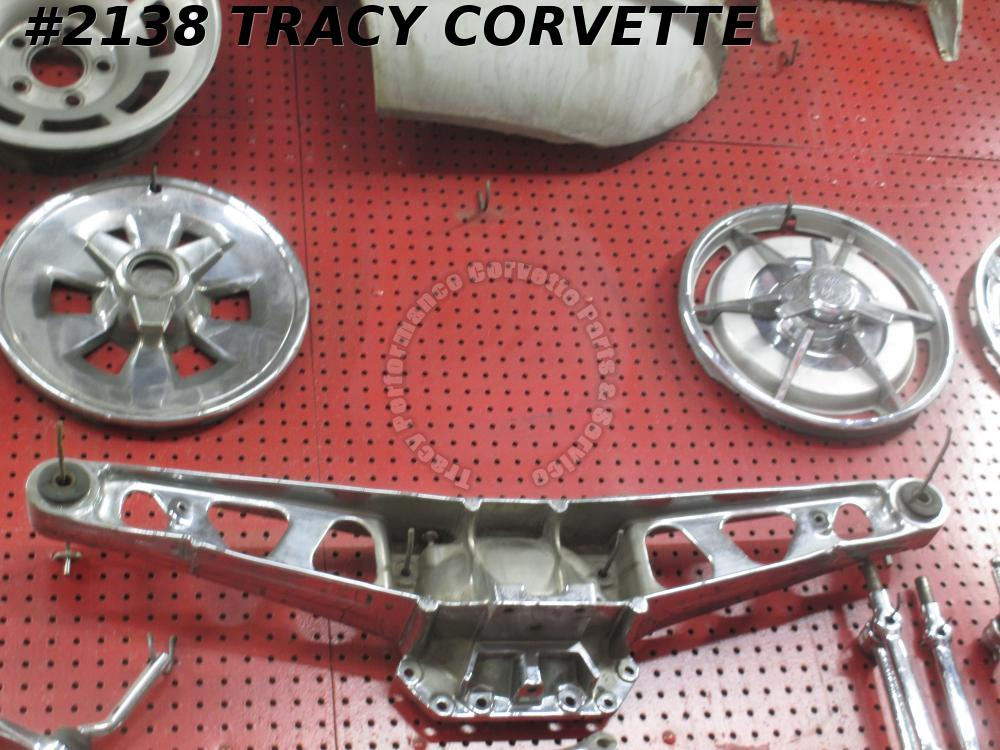 1980-1982 Corvette Used Original Chrome Differential Rear Axle Cover, Street Rod