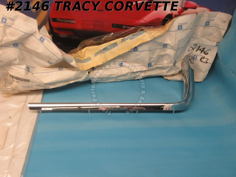 1968-1969 Corvette NOS 3915847 LH Hand Driver's Side Outer Grill Grille Mldg