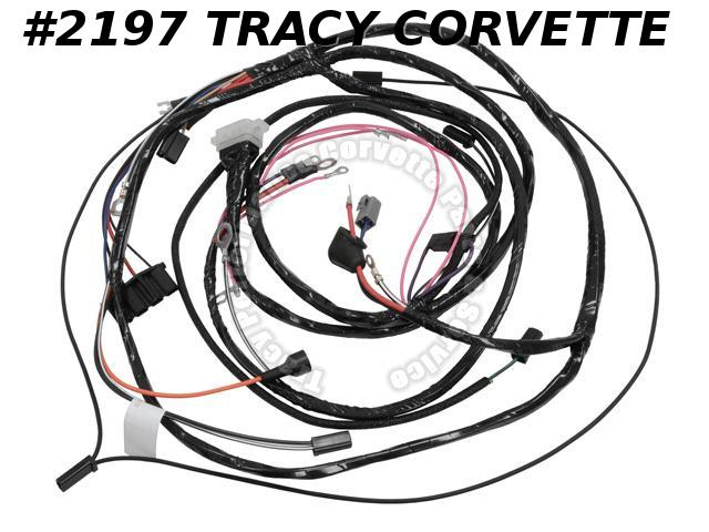 1963 Corvette New Repro Main Engine/Starter Wiring Harness wo/AC USA Lectric Ltd