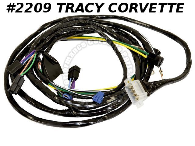 1963 Corvette New Repro Forward Lamp Wiring Harness USA Made Lectric Ltd