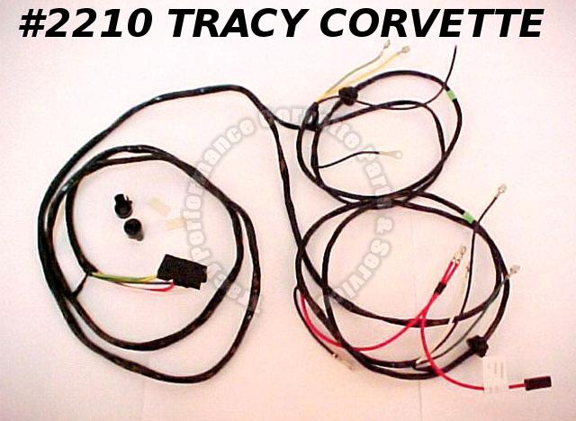1963-1966 Corvette New Repro Power Window Wiring Harness USA Made Lectric Ltd