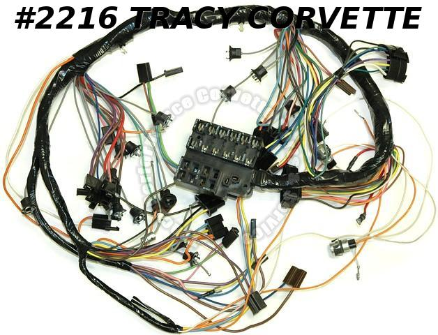 1967 Corvette New Repro Dash IP Wiring Harness USA Made Lectric Ltd