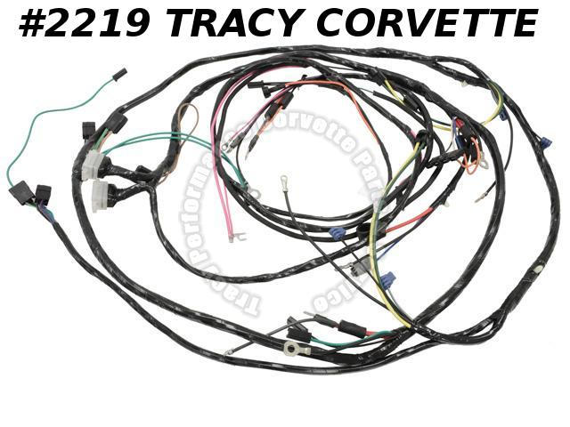 1967 Corvette Engine Forward Lamp Wiring Harness GM 6292088   USA Made