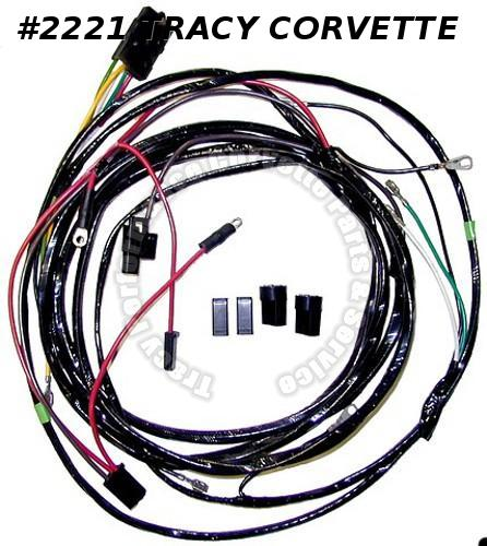 1967 67 Corvette New Repro Power Window Harness USA Made Lectric Limited VPW6700