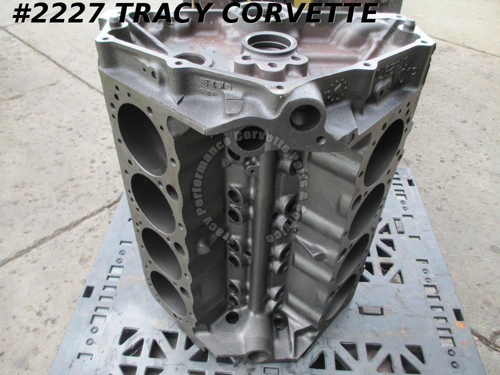 1962-1963 Chevrolet 327 Bare Block GM# 3782870 1962 Dated Corvette