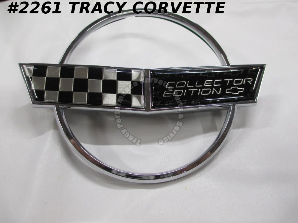 1996 Corvette Nose Emblem - Collector Edition Replacement f/ 10254346