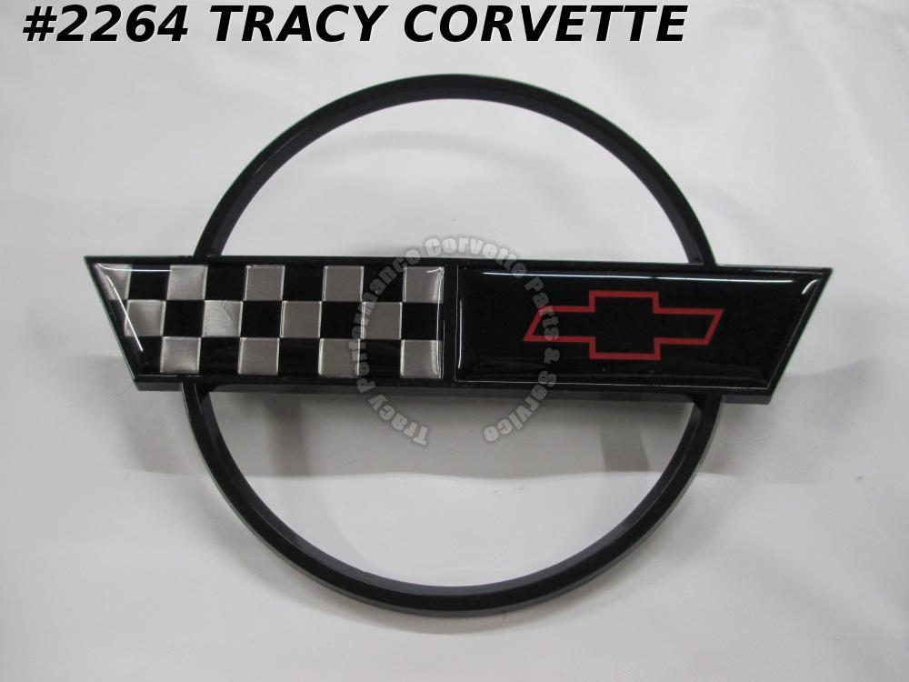 1991-1996 Corvette Replacement 10153650 Gas Door Emblem-Except Special Edition