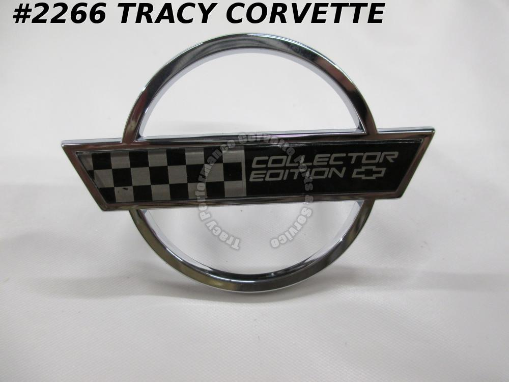 1996 Corvette Replacement for 10254344 Side of Hood Emblem, Collector Edition 96