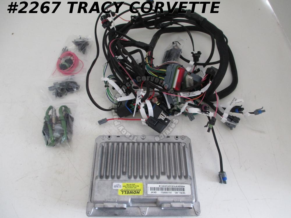 1963-1980 C2 C3 Corvette New LT1 Conversion Engine Wiring Harness