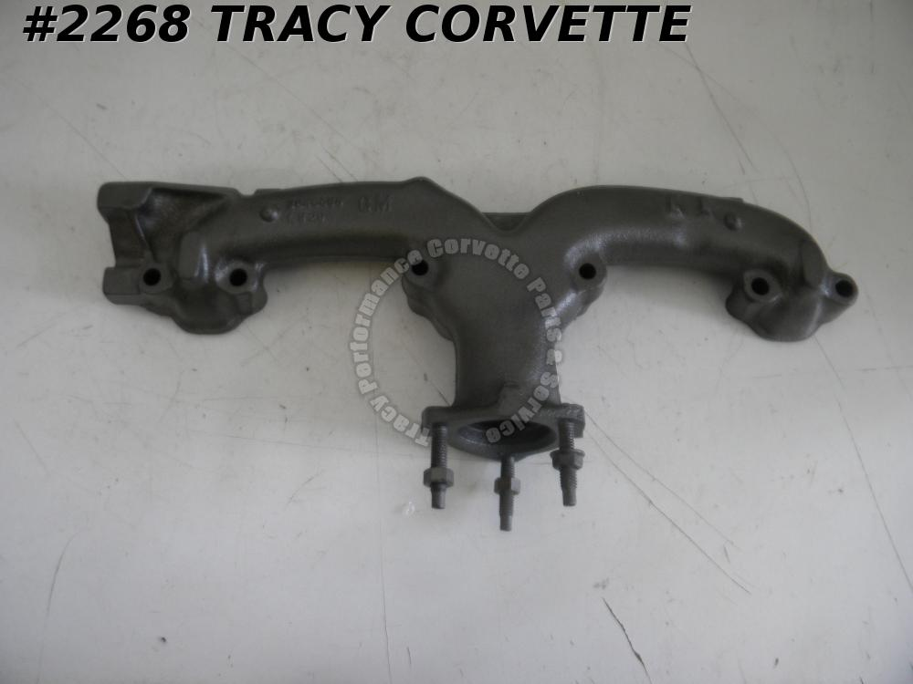 1964-1971 Chevy Corvette Used Original 3846559 LH SB Exhaust Manifold Dated E 25