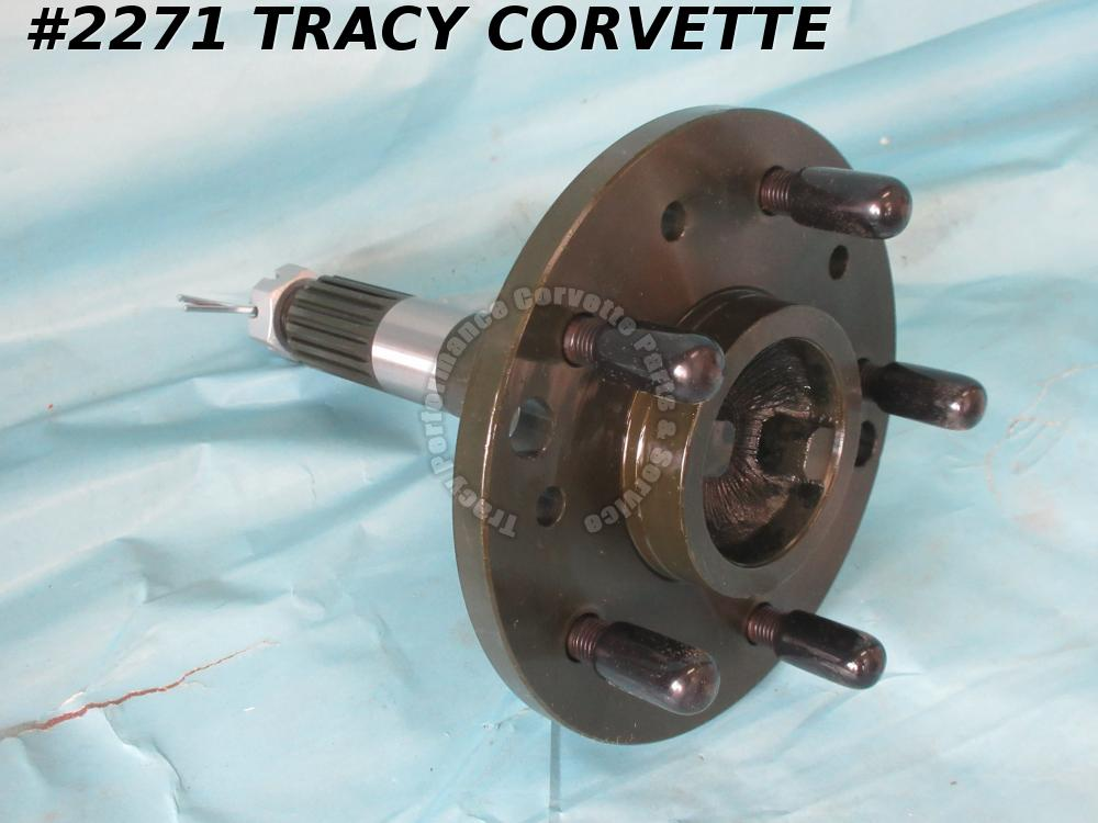 1965-1982 Corvette Rear Axle Outer Spindle w/Disc Brakes GM# 3872476