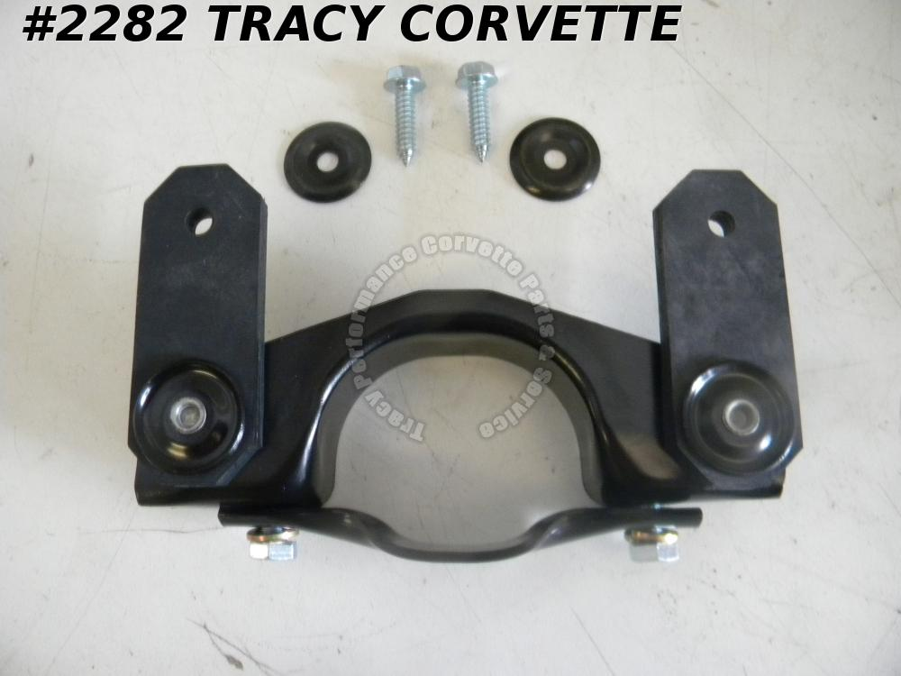 "1978-1982 Corvette Exhaust Hanger Clamp Asy with Bolts 459081 473039 2 1/2"" C3"