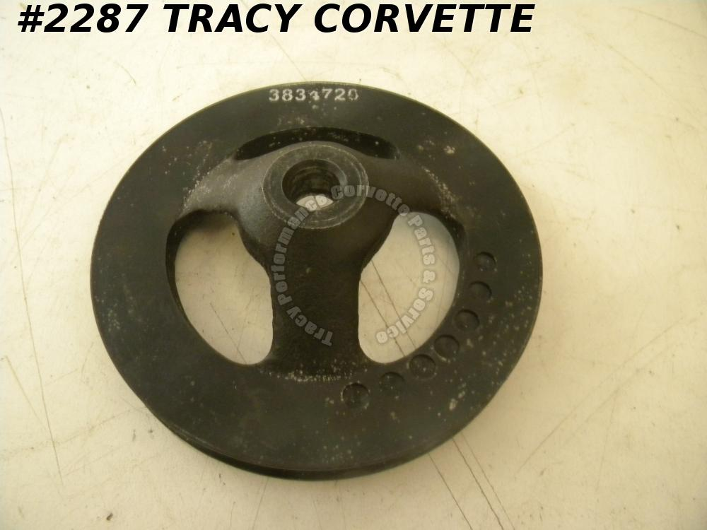 1965-1974 Corvette Power Steering Pulley 3834720 Cast Iron P/S Pulley 327 350 SB