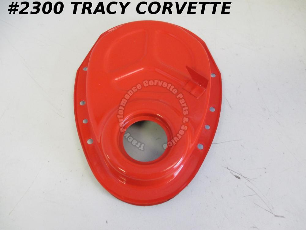 "1962-1965 Corvette Timing Chain Cover GM# 3923290 for 8"" Balancer w/ Dowel Hole"