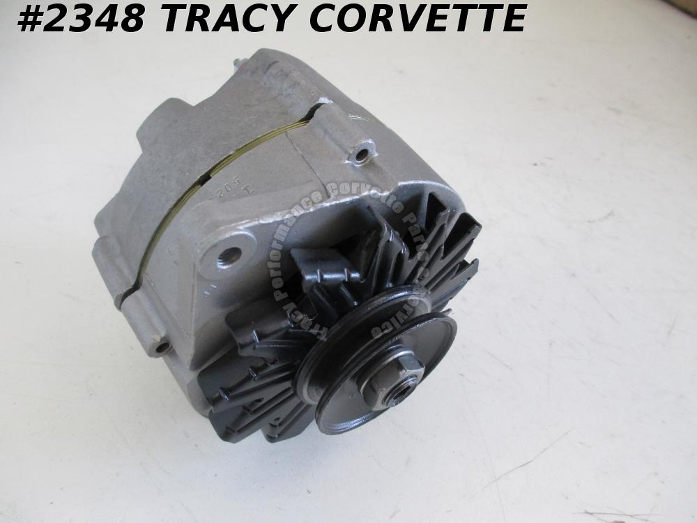 1965-1968 Corvette Original Rebuilt 1100696 42 Amp Alternator Dated 5 D 22 65 66